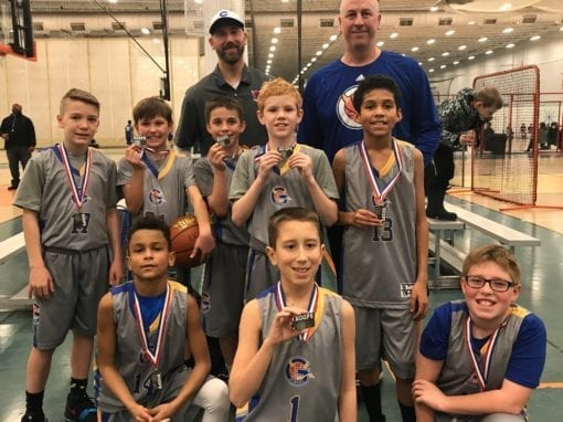 5th Grade Blue – 2nd Place Finish in the Deerfield Young Warriors Feeder Tournament