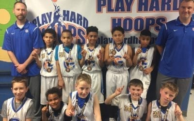 4th Grade White – Champions Of Play Hard Hoops Feeder League Tournament 2018