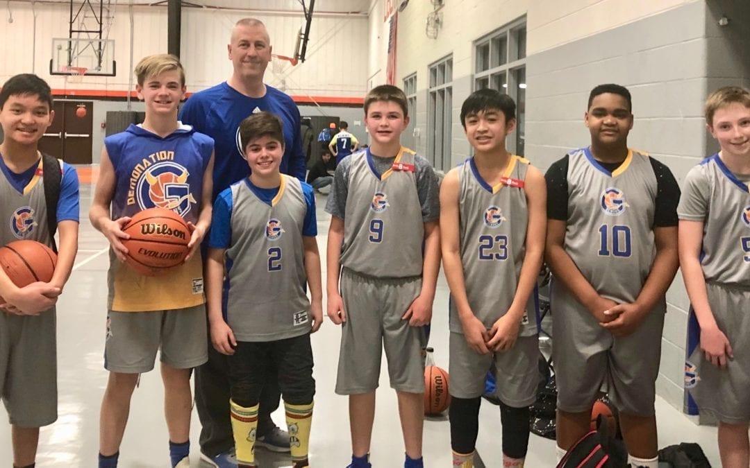 Gurnee Demons 7th Grade Blue Team